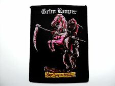 GRIM REAPER  SEE YOU IN HELL       WOVEN PATCH