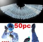 FD4586 New 3ML Disposable Plastic Eye Dropper Transfer Graduated Pipettes 50PC✿