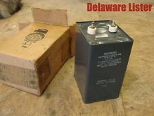 *LARGE HIGH VOLTAGE AEROVOX VINTAGE CAPACITOR PX16J8 30 FMD 2500 VDCP 7320