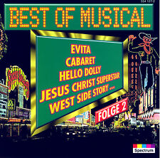 BEST OF MUSICAL F2 ... EVITA, CABARET, HELLO DOLLY, WEST SIDE STORY, JESUS ..