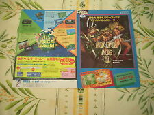 GOLDEN AXE II 2 SEGA MEGADRIVE ORIGINAL JAPAN HANDBILL FLYER CHIRASHI!