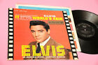 ELVIS PRESLEY LP IT HAPPENED AT THE ... ORIG ITALY 1963 LIVING STEREO !!!!!!!!!!