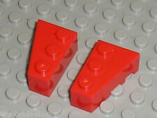 LEGO red wedges ref 6564 & 6565 / set 8157 4955 5591 8156 5571 2774 8652 8443...