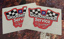 x2  GOODWRENCH SERVICE GM RACING style rally Decal Sticker
