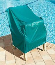 STACKING CHAIR COVER ~ Outdoor Patio Furniture Covers ~ Sun Snow Rain Protectors