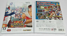 Tatsunoko vs. Capcom Cross Generation of Heroes Wii Japan Vs 2D Brand NEW Sealed