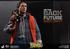 Hot Toys 1/6 Scale figure Marty Mcfly Back to the future movie MMS257 12inch