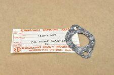 NOS New Kawasaki H1 H2 KD80 KD175 KE100 F3 F4 G3 G4 G5 C2 KX125 Oil Pump Gasket