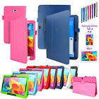 PU Leather Folio Case Stand Cover For Samsung Galaxy Tab 4 7.0