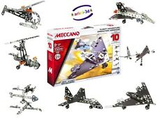 MECCANO MAKER SYSTEM FLIGHT ADVENTURE 10 MODELS - PLANE - HELICOPTER ROCKET NEW