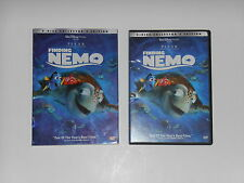 DISNEYS PIXAR FILM FINDING NEMO 2 DISC COLLECTOR'S EDITION DVD MOVIE SLIPCOVER