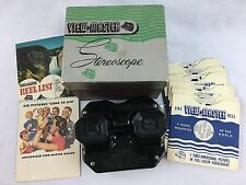 Vintage Sawyer's View-Master Stereoscope Bakelite with 6 Reels & Original Box
