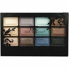 BODY COLLECTION - 'Beauty Shadows' - 12 Shade Eyeshadow Compact - Sealed -