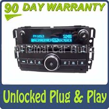 Unlocked GMC Chevy Radio 6 Disc CD Changer MP3 AUX Receiver AM FM 15202716 OEM