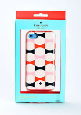 Kate Spade New York Dual Layer Hard Shell Case Cover for iPhone 5C Bow Ties
