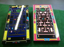 PAC MAN & MRS PAC MAN CORNHOLE BOARD WRAPS SKINS