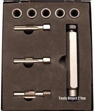 BGS 8647 KIT RIPARAZIONE PER CANDELETTA thread, M8 x 1.0 Inc 5 inserti in caso di acciaio