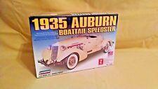 Auburn Boattail Speedster 1935 Model Lindberg New 72324 Car Sealed Made USA 2006