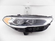 USED OEM FORD FUSION HEADLIGHT HEAD LIGHT LAMP HEADLAMP LED 2017 17 RH scratched