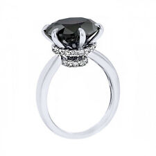 2.22CT Women's Unique Round Solitaire Engagement Ring Set in 925 Solid Silver