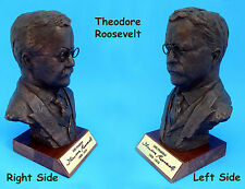 "BUST - Theodore ""Teddy"" Roosevelt 26th President USA - **Hand Crafted  USA**"