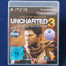 PS3 - Playstation ► Uncharted 3: Drake's Deception ◄ Game of the Year Edition