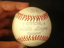 Collectible Worth Official Little League Playing Baseball With Original Box