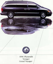1996 PLYMOUTH VOYAGER BROCHURE