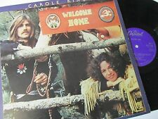 "CAROLE KING WELCOME HOME (1970s POP ROCK, FOLK) VINYL 12"" 33RPM LP"