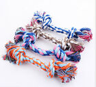1PCS Chew Toy with Knot Fun Tough Strong Puppy Dog Pet Tug War Play Cotton Rope