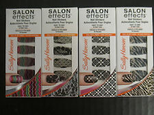 SALLY HANSEN SALON EFFECTS 4 LIMITED EDITION NAIL STICKERS - EL 2333