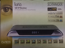 Schwaiger DSR605 lano IP Satelliten Receiver Full-HD CI+ HbbTV DLNA PVR