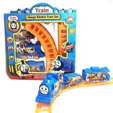 1 Set Kids Baby Electric Anime Machines Railway Trains Model Toy Christmas Gifts