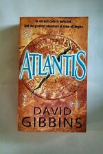Atlantis, David Gibbins, 0553587927, paperback book very good condition