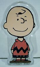Peanuts Charlie Brown Hard Clear Plastic Container