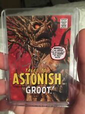 "GROOT 2016 JOE JUSKO MARVEL MASTERPIECES ""WHAT IF"" #38 Auto Jusko 07/10"