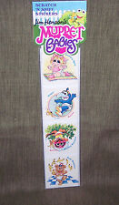 MUPPET BABIES SCRATCH & SNIFF STICKERS -JIM HENSON: 1 pk=VINTAGE 1985