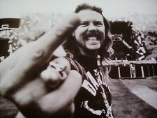 "Metallica 1991 James Hetfield 10"" x9"" to frame? from Book 2015"