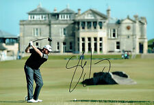 Shane LOWRY SIGNED AUTOGRAPH St Andrews Dunhill Golf 12x8 Photo AFTAL COA