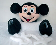 Accessories of Mickey and Minnie Mouse Shoes Cartoon  Costume Mascot for Sale