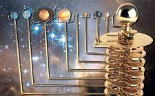 BUILD A MODEL SOLAR SYSTEM ORRERY COMPLETE ISSUES 1-52 BY EAGLEMOSS