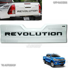 White Rear Back Tailgate Outer Lid Cover Toyota Hilux Revo Sr5 M70 M80 2016 2017