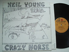 NEIL YOUNG & CRAZY HORSE Zuma EX REPRISE MS 2242 Original Textured LP w/inner