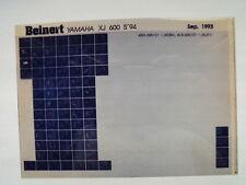 Yamaha XJ 600_S__1994 Microfilm Catalogo ricambi Pezzo di Listello