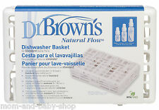 DR BROWN'S BABY FEEDING BOTTLE STANDARD SIZE DISHWASHER BOTTLE PARTS BASKET