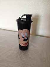 TUPPERWARE Disney Mickey Mouse Tumbler w/ Flip Top Seal 16oz  New