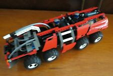 Vintage Lego 8454 Technic Fire Truck - Airport Rescue - Rare - Retired in 2003
