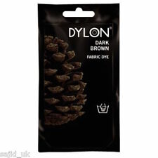 Dylon Fabric and Clothes Hand Dye 50g - Dark Brown - FREE P&P