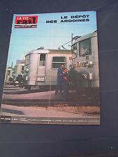 vie du rail 1970 1259 FAVERGES UGINE ALBERTVILLE TENCE DUNIèRES vitry sur seine