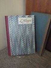 L'Allegro: John Milton :Il Penseroso